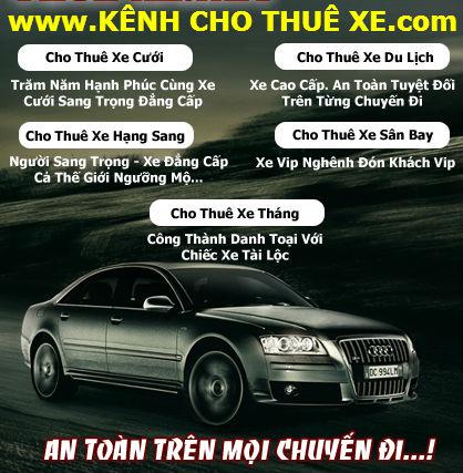 Cho Thuê Xe Cưới 16 Chỗ ở Hồ Chí Minh